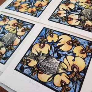 Nicola Cowie Printmaking